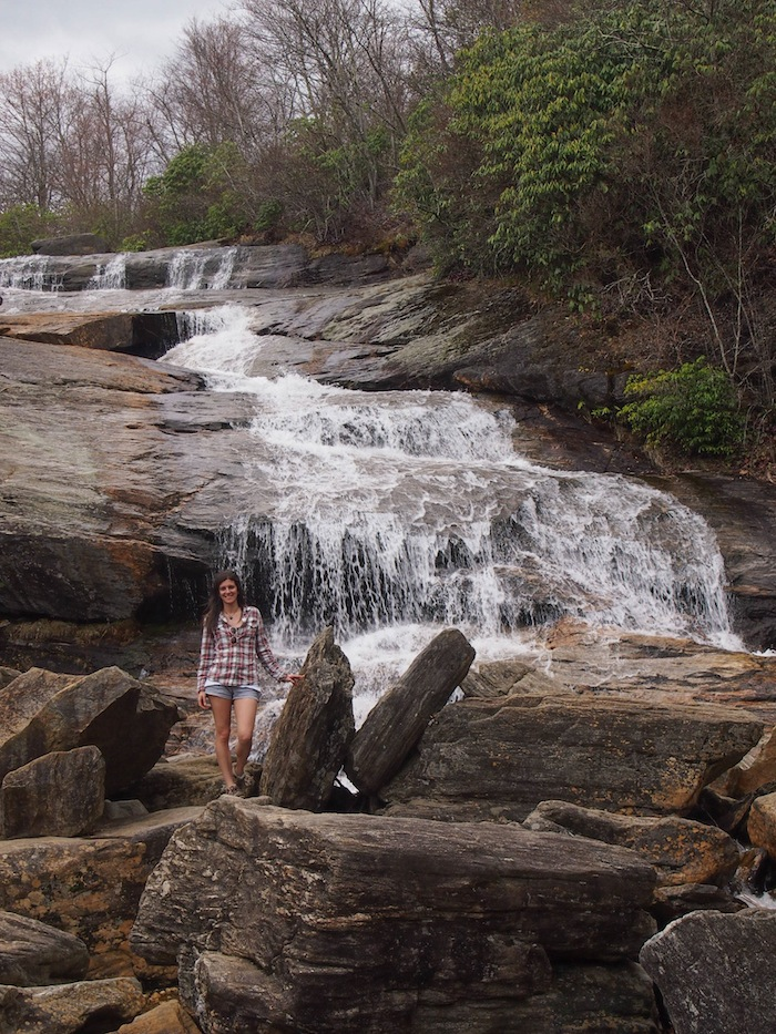 The Lower Falls and Graveyard Fields