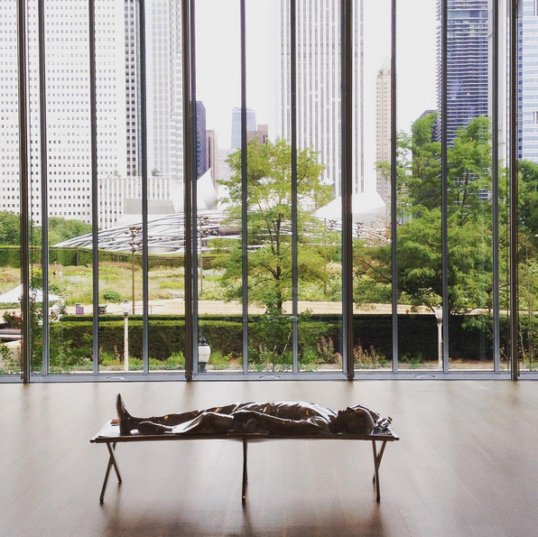Chicago Travel Guide: Charles Ray at Chicago Institute of Art