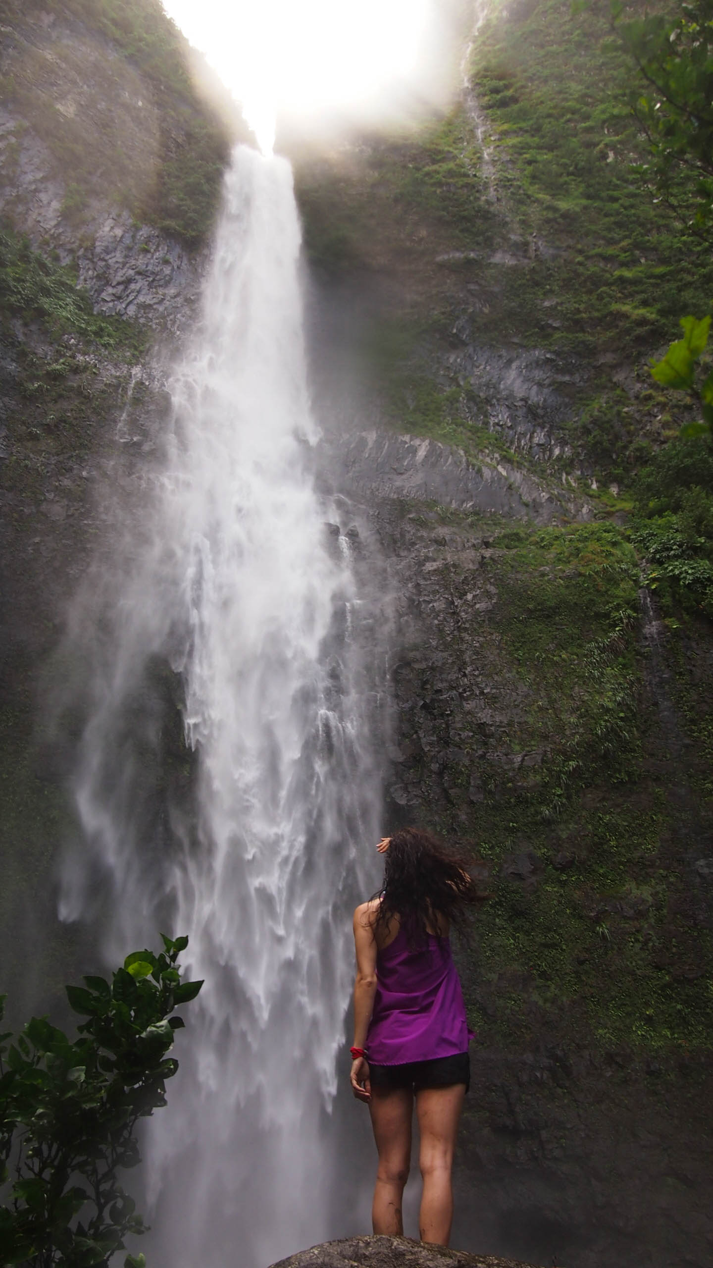 Hanakapiai Falls on the Kalalau Trail