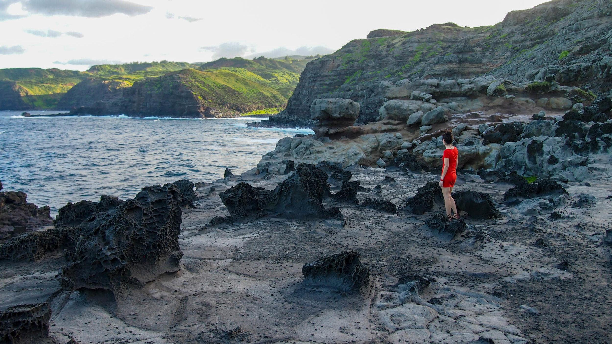 Hiking Nakalele Point