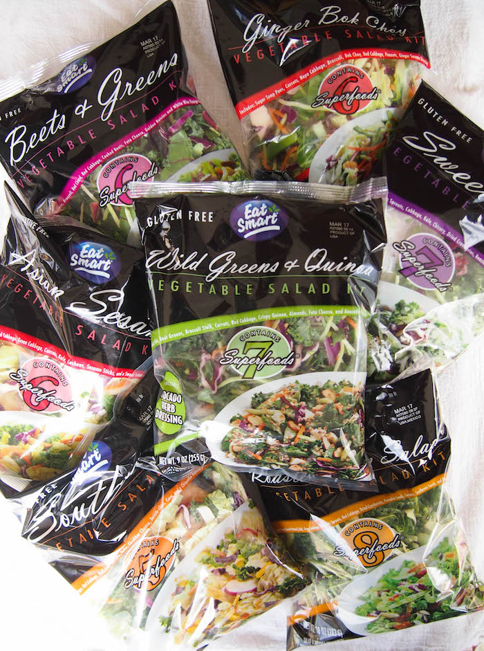 Eat Smart Gourmet Vegetable Salad Kits are the perfect shortcut to a quick and healthy meal!