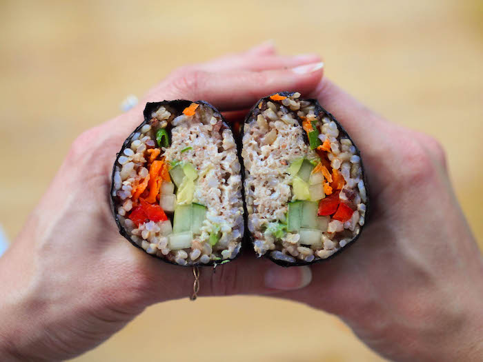 California Roll Sushi Burrito