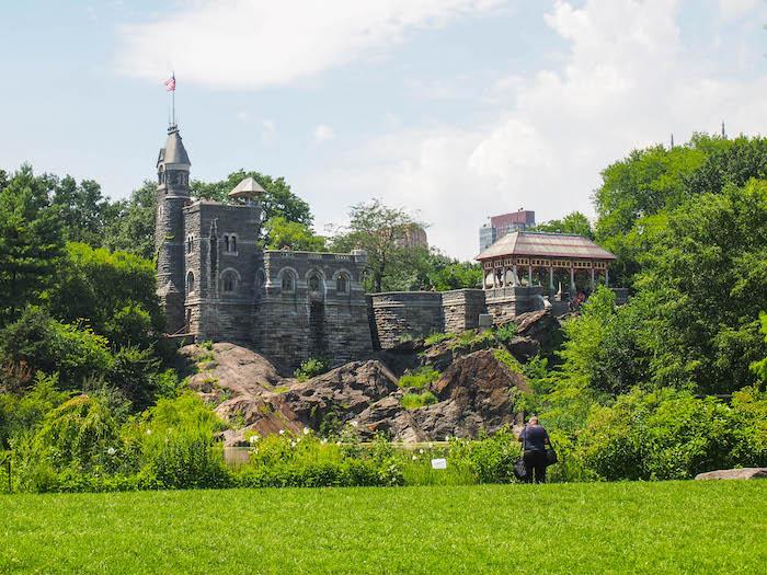 一个公园公园