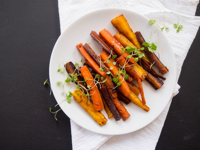 Chipotle Roasted Carrots with Orange