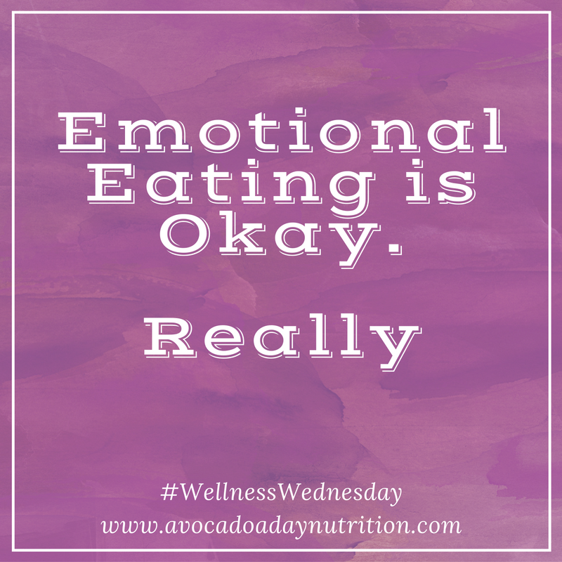 Emotional Eating is Okay.