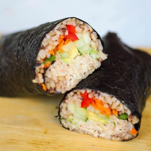 California Roll Sushi Burrito