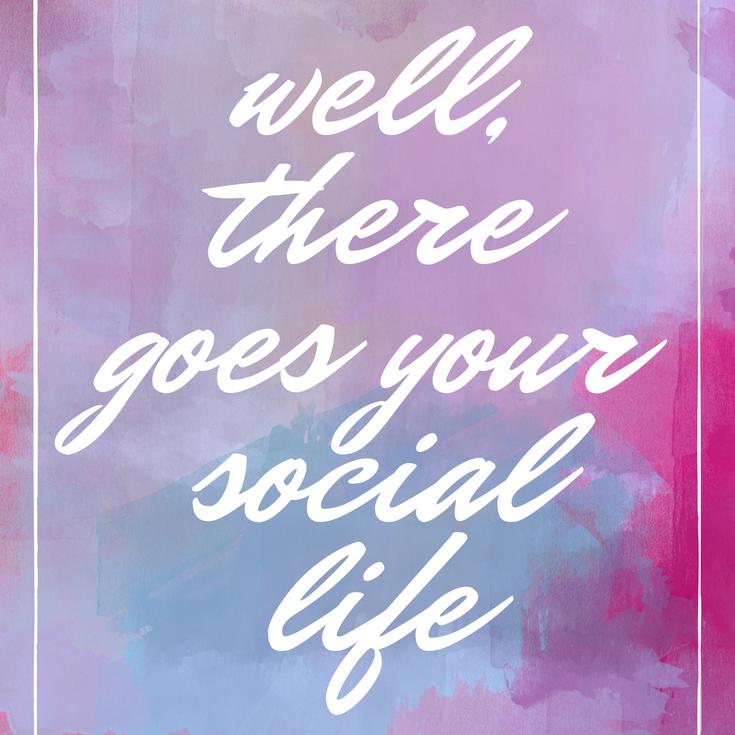 节食?好吧,你的社会生涯会有很多。