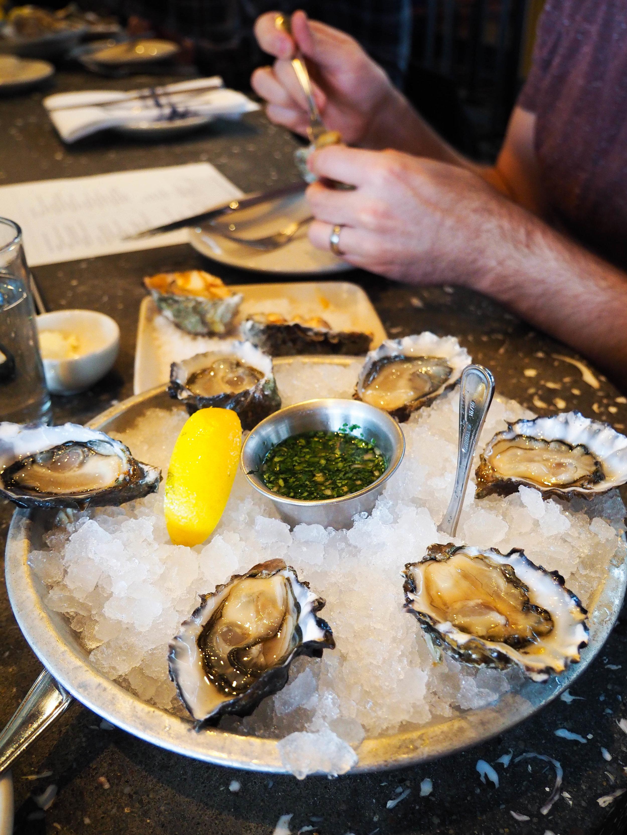 牡蛎是我的生命。