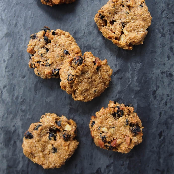 Almond Trail Mix Cookies