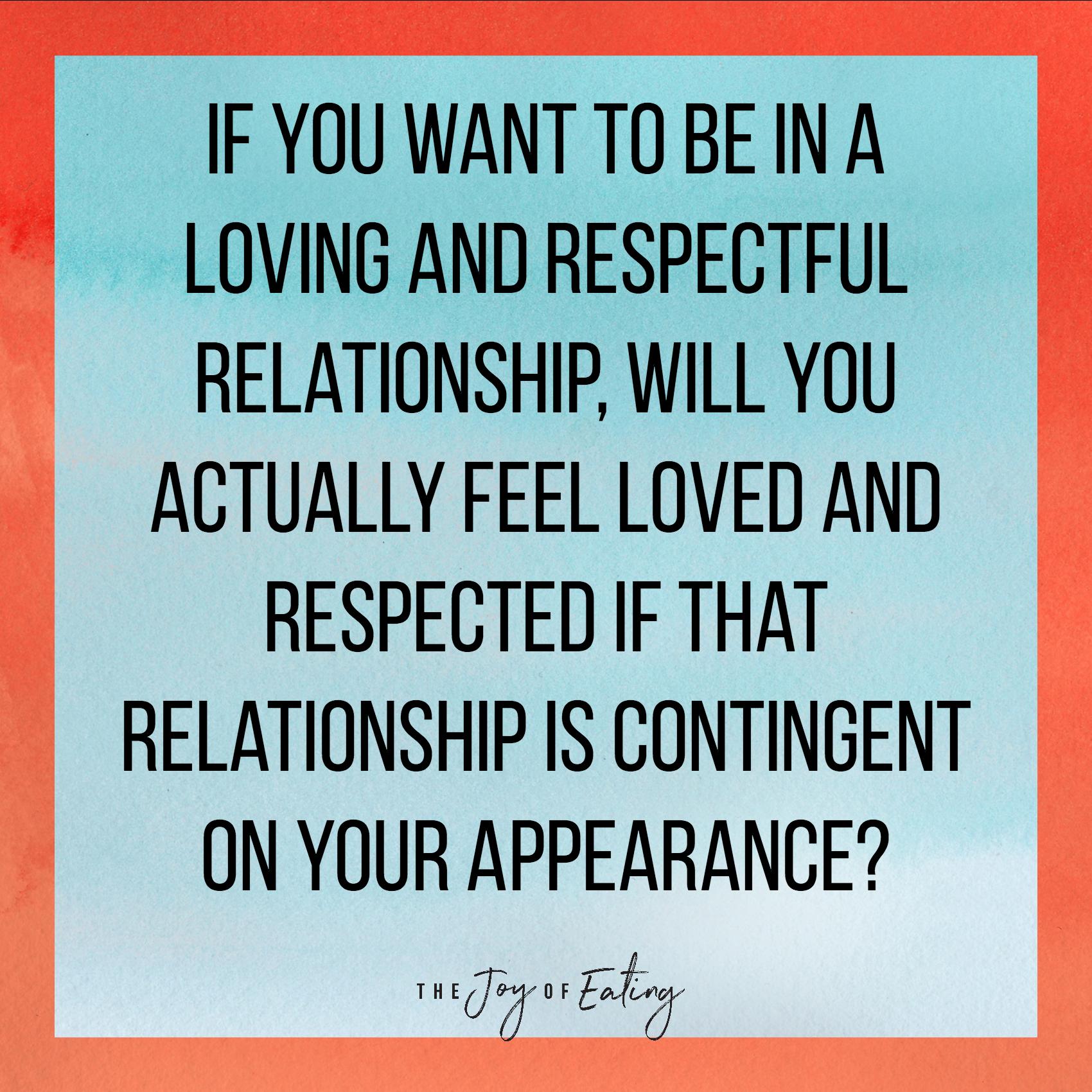 如果你想和一个爱和感情的人一样