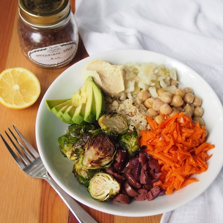 How to Build the Perfect Grain Bowl