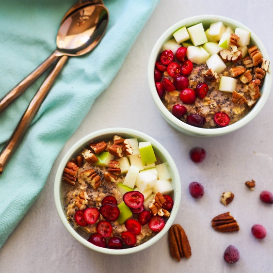 Cranberry Apple High Protein Oats