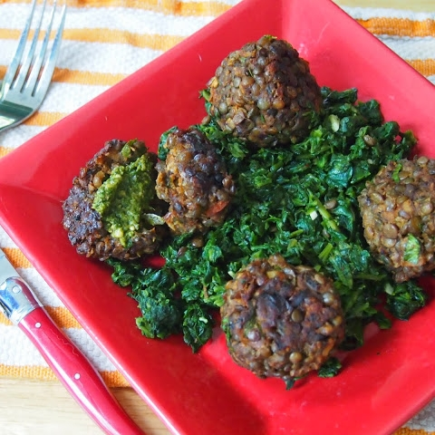 Lentil Veggie Balls