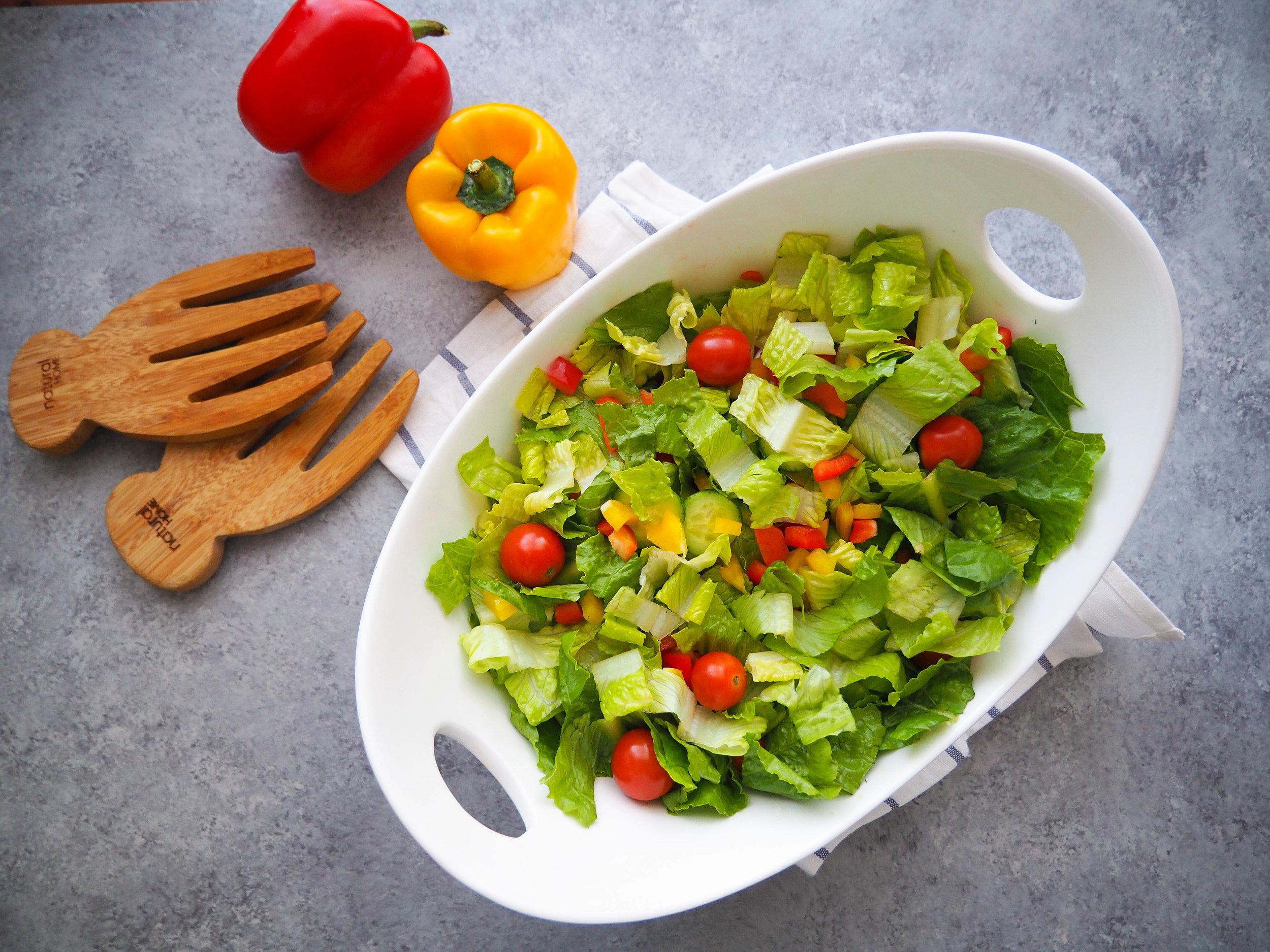 Crunchy Vegetable Salad Mix