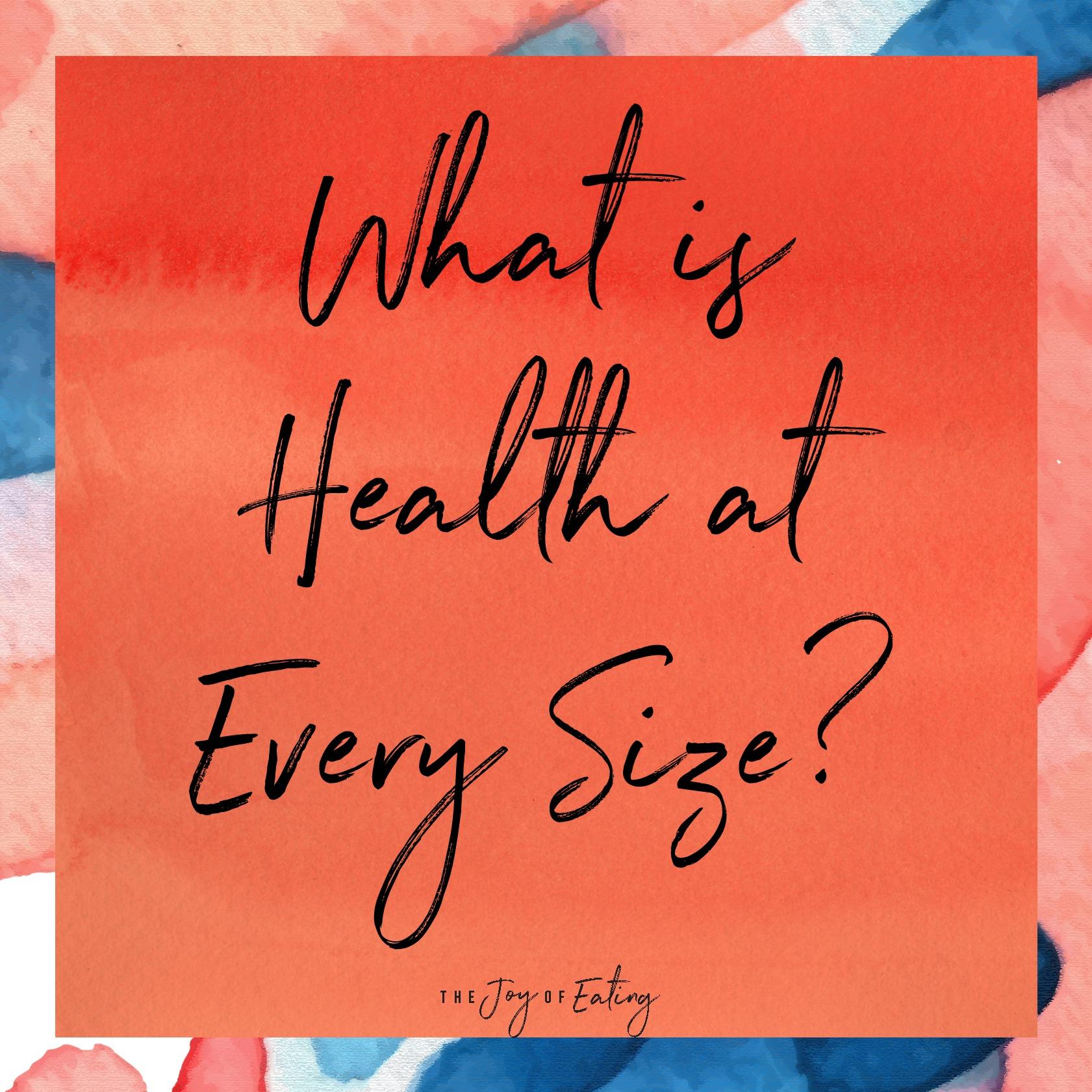 在健康的每一种都是个好东西。
