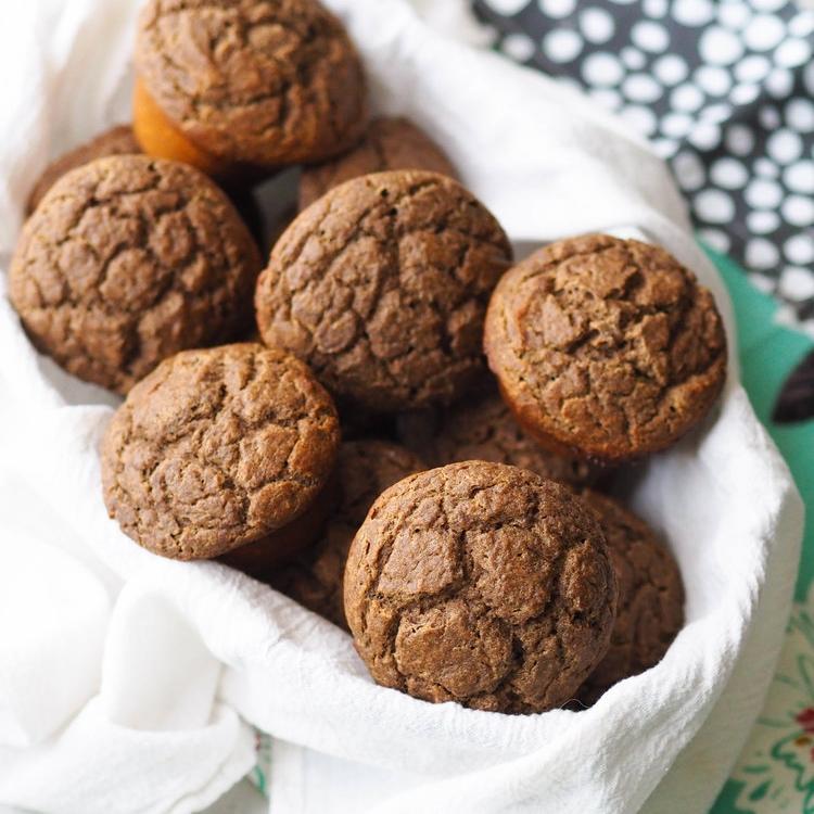 Multigrain Pancake Muffins