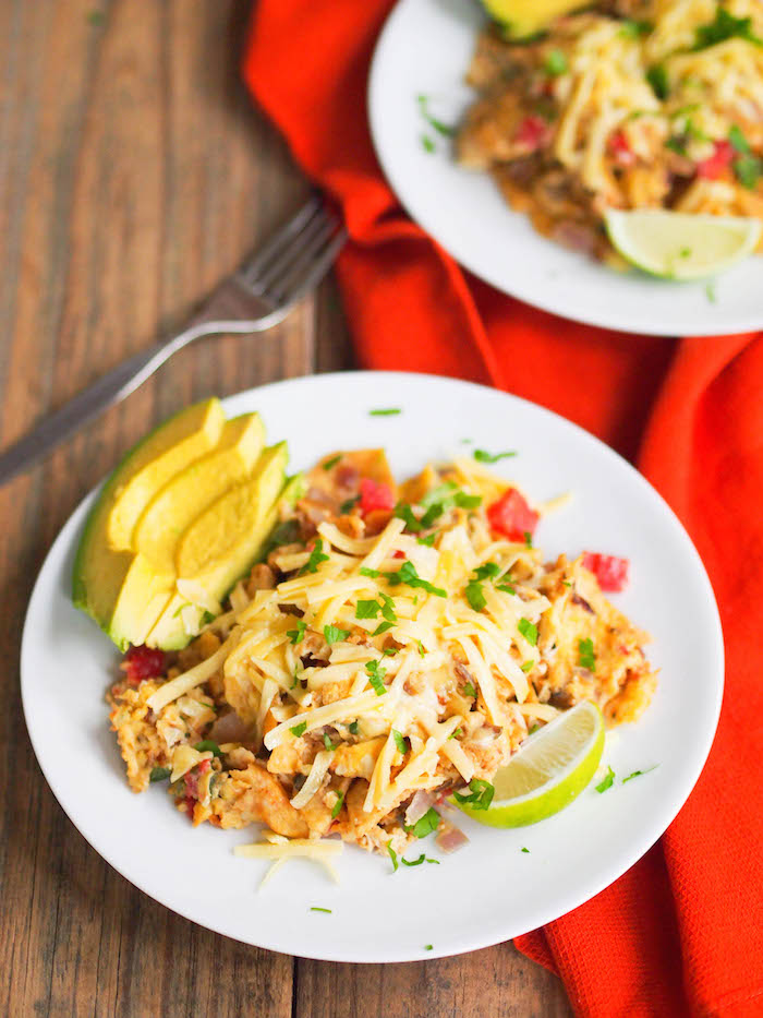 Quick and easy meal ideas - classic migas