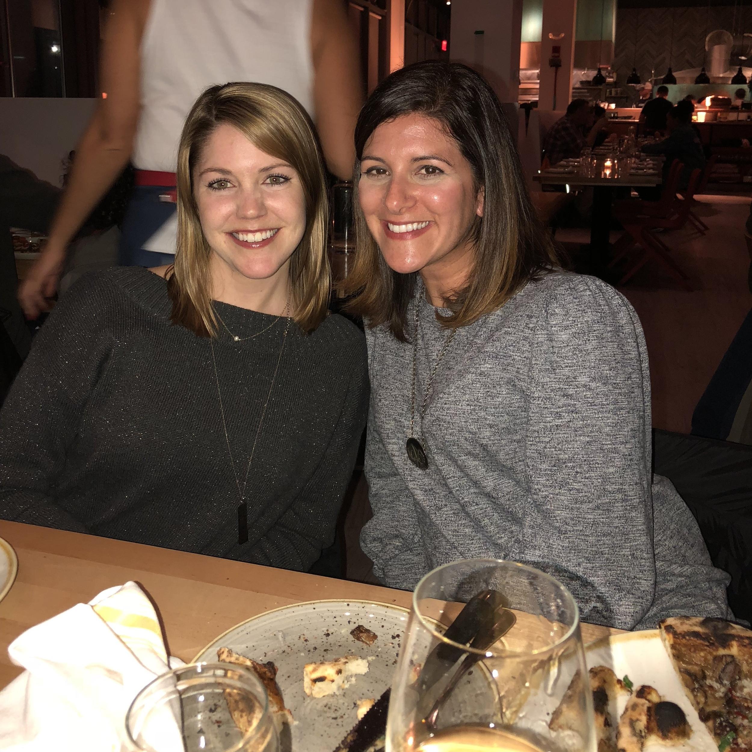 Reunited with my dear friend Katrina!