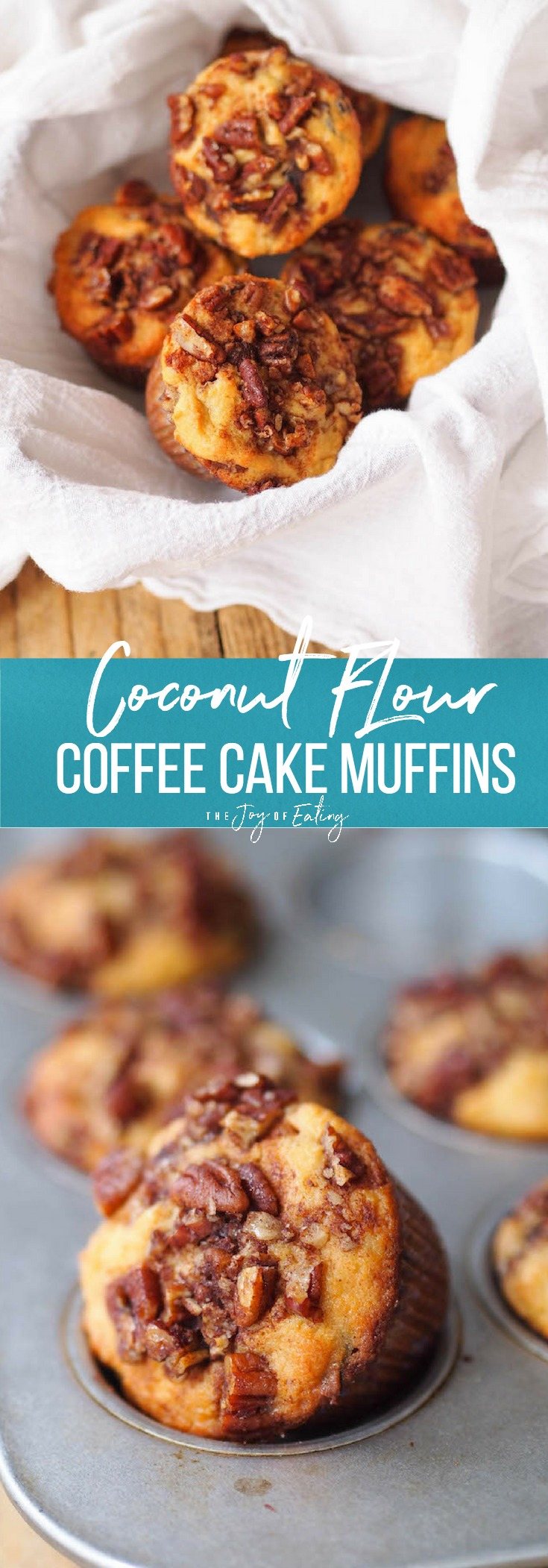 Coconut Flour Coffee Cake Muffins
