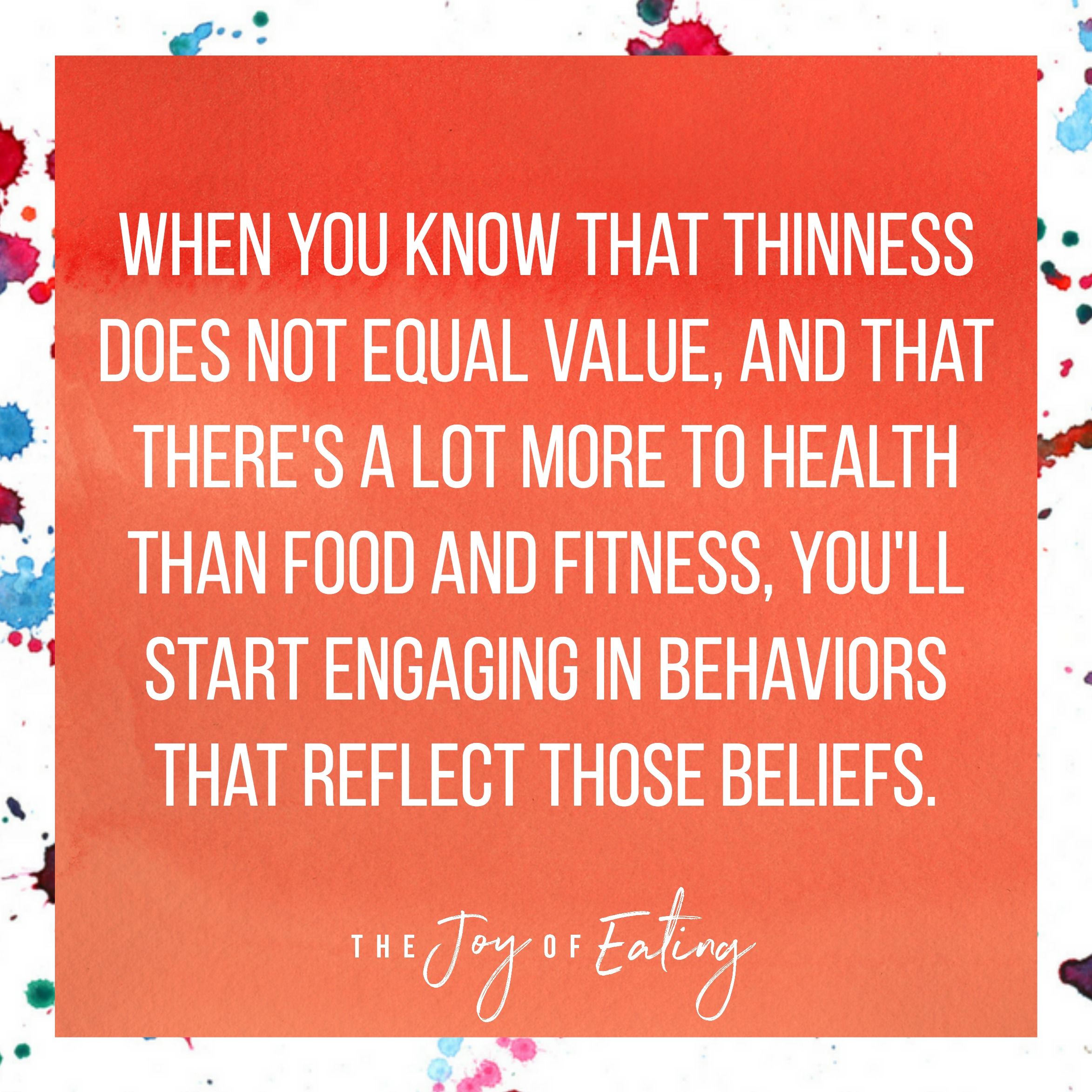 Learn how to change beliefs that are rooted in diet mentality #healthateverysize #haes #intuitiveeating #nondiet #wellness