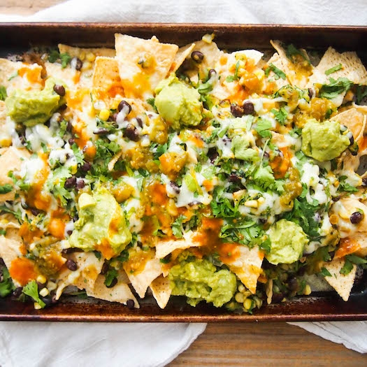Epic Vegetarian Nachos