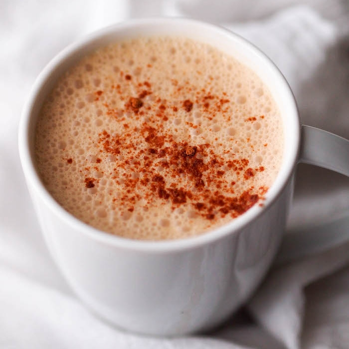 Frothy Chai Tea Latte