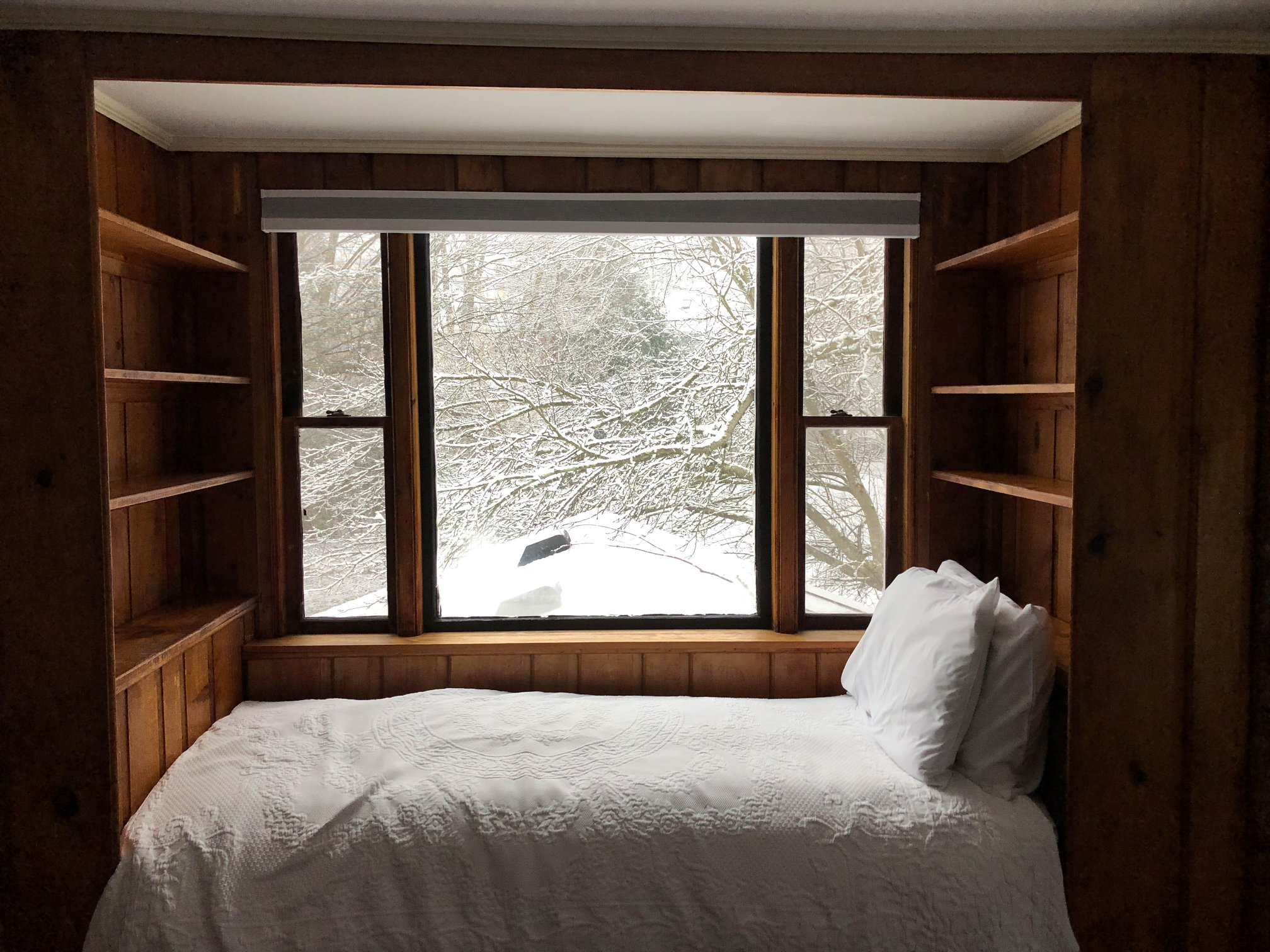 The coziest view to wake up to.