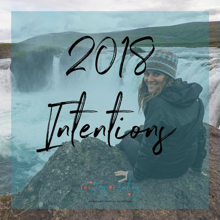 2018 Intentions