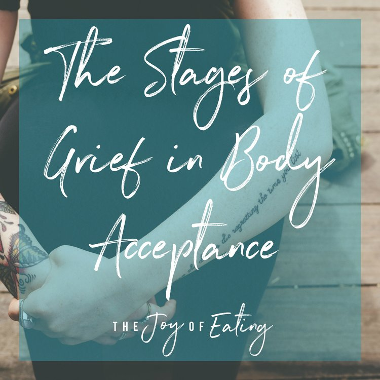 Stages of Grief in Body Acceptance