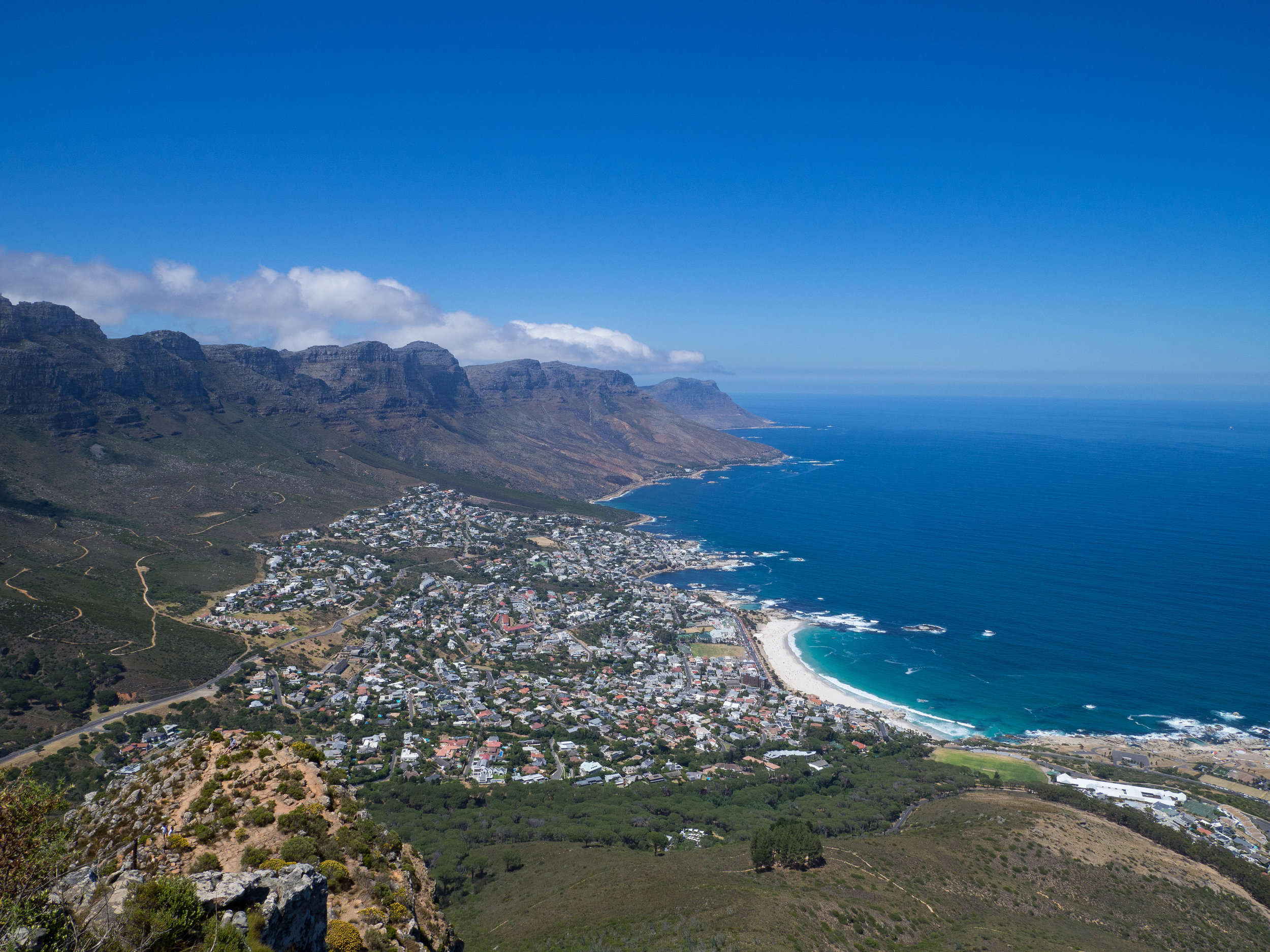 Clifton from Lion's Head trail