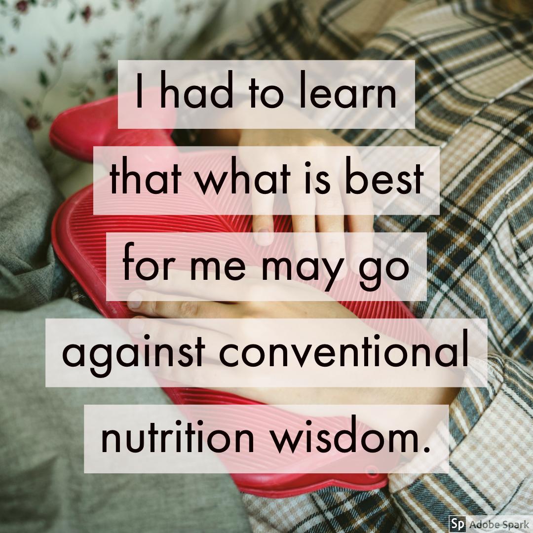 有时,纤维和其他的东西,也不能做点作用,也能使它变得更糟。当你在说什么时候,你的意思是,他们的建议是最温和的,有很多特殊的建议。能解释一下其他的饮食如何解释这些药物的症状。####营养物质#