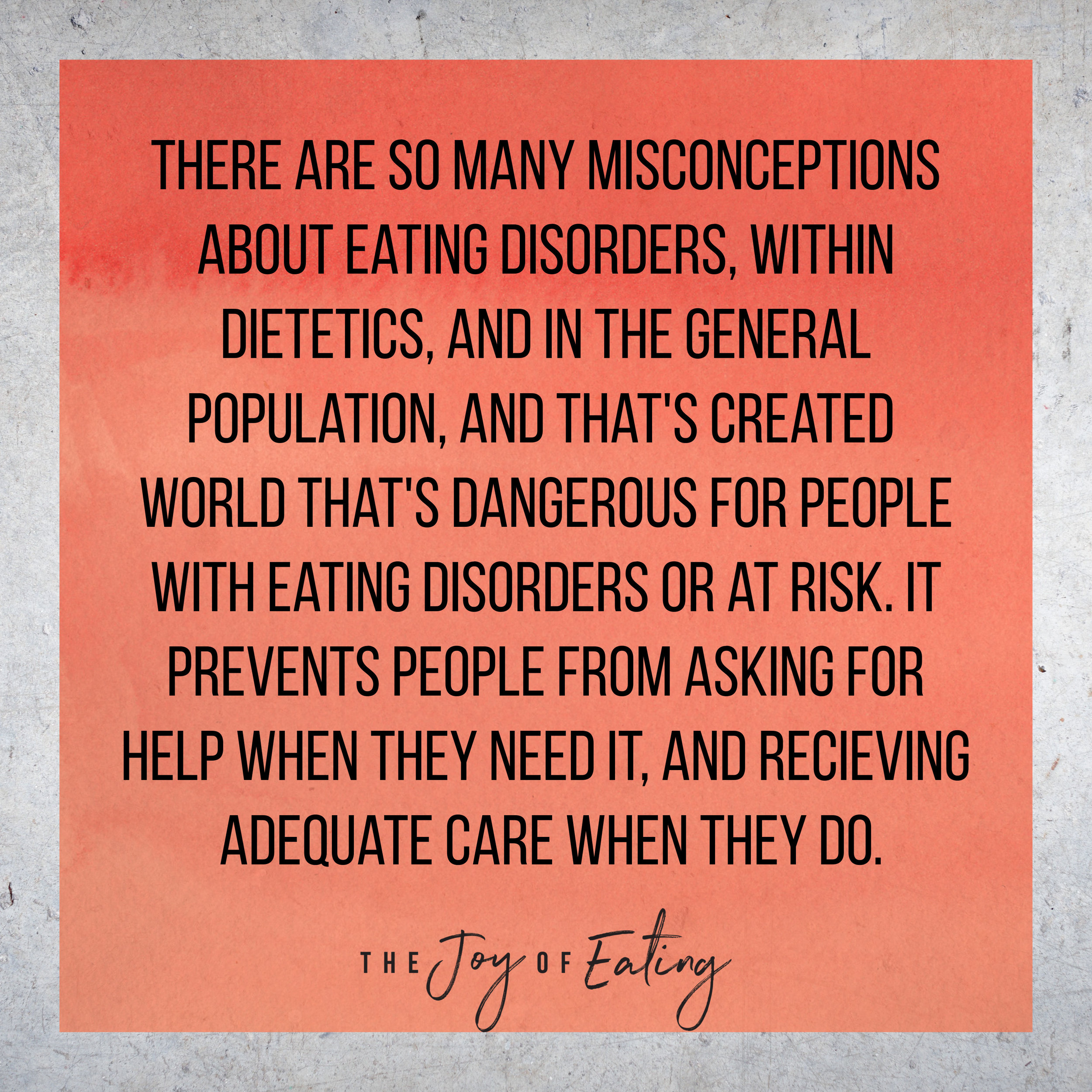 What I wish more people understood about eating disorders. #edrecovery #bingeeating #intuitiveeating #healthateverysize #bodypositive