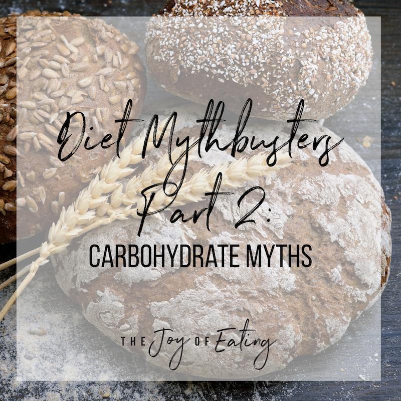 碳水化合物和碳水化合物!四个神话都不会相信!####健康的健康#健康#