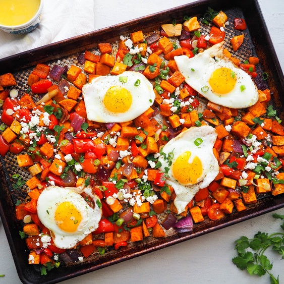 Southwestern Breakfast Hash with Chili and Orange