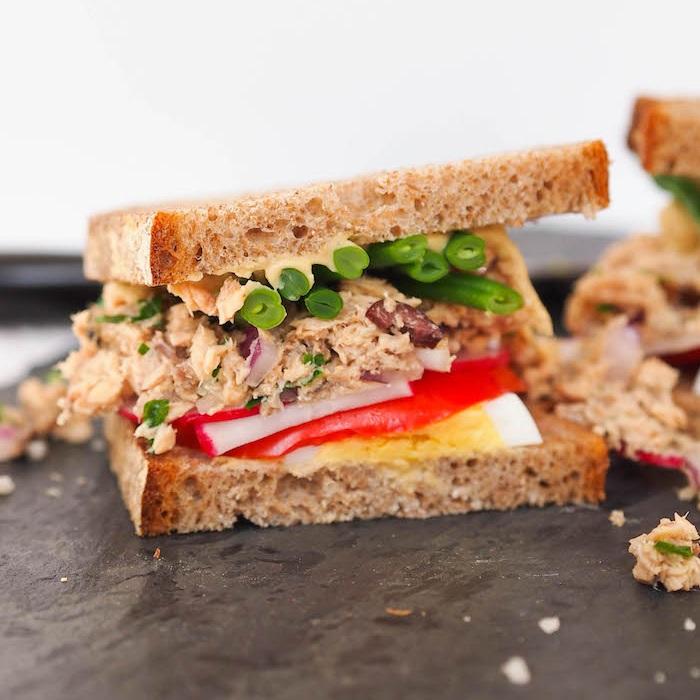 Nicoise Sandwich