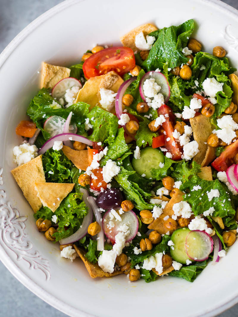Best Mustard Greens Greek Salad