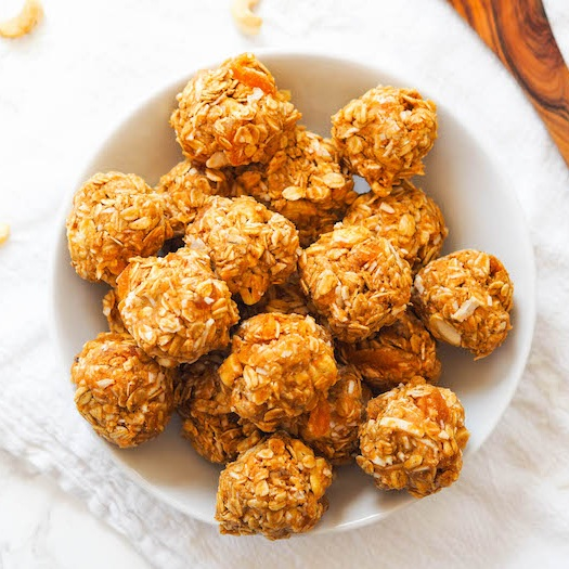 Salty Coconut Cashew Energy Balls