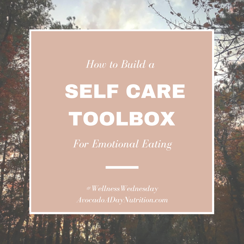 Self Care Toolbox for Emotional Eating