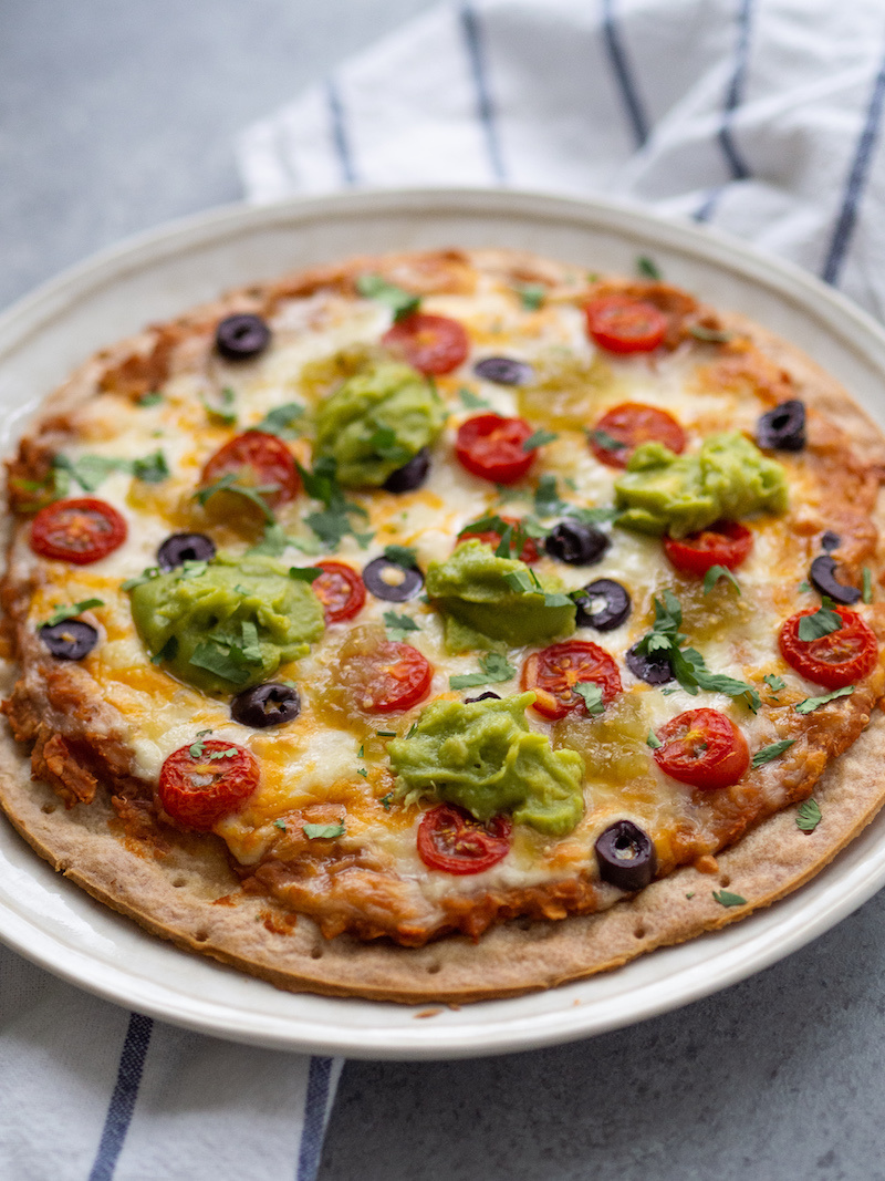 Flavorful Mexican Cauliflower Crust Pizza