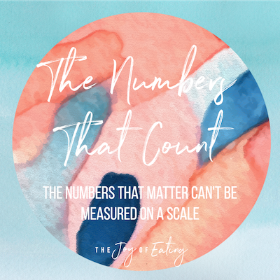 The Numbers That Count Can't be Measured on a Scale