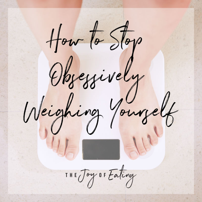 How to Stop Obsessively Weighing Yourself #intuitiveeating #haes #bodypositive