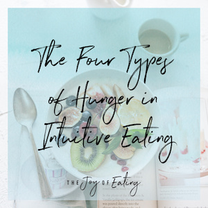 The Four Types of Hunger in Intuitive Eating