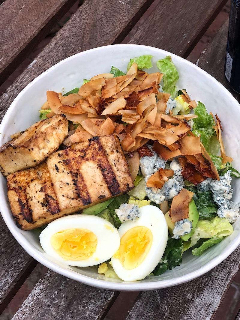 这个豆腐沙拉又是我的7块沙拉。