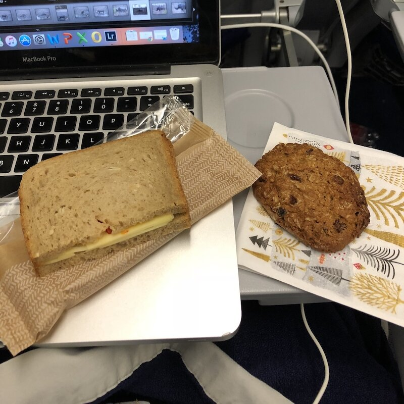 What an Intuitive Eater Eats in the Day - sandwich