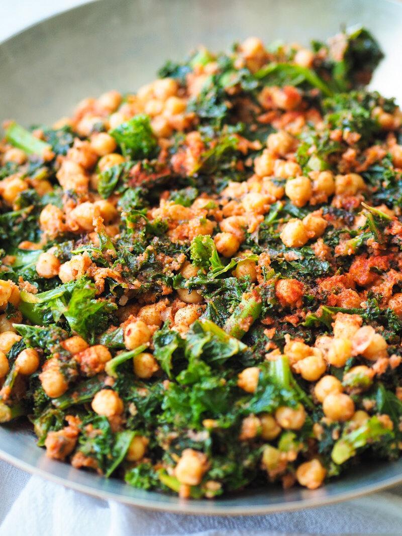 健康的蓝豆和马基奇