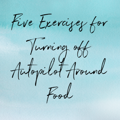 五种食物的味道