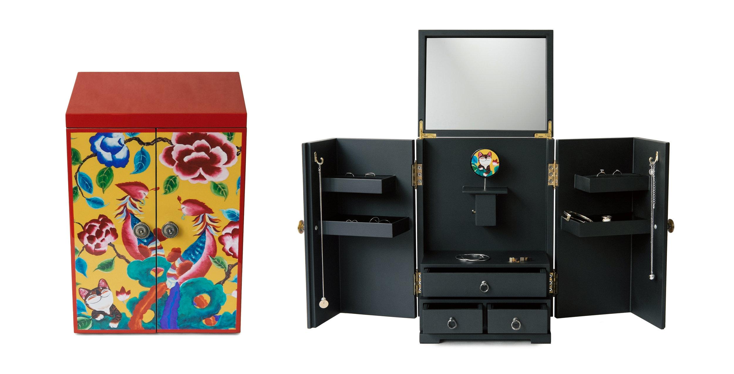 Customized Dressing Jewelry box
