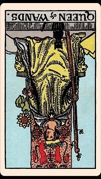The Card of the Day: The Queen of Wands (Terbalik) — Elliot Oracle - Pembacaan Kartu Tarot