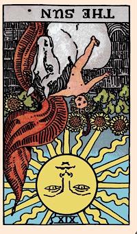 Kartu Hari Ini: Matahari ( Terbalik) — Elliot Oracle - Pembacaan Kartu Tarot