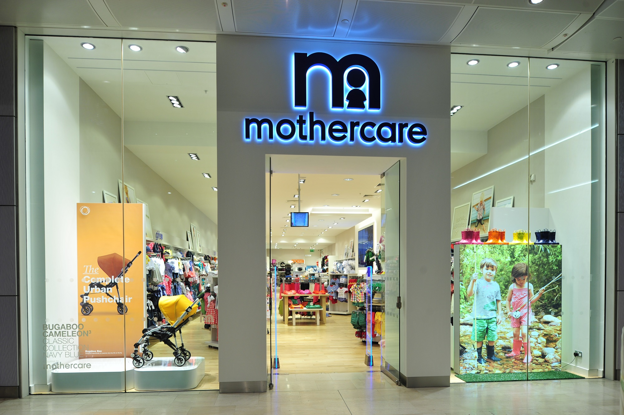 Mothercare Shop Fit Auckland